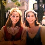 Renaissance Festival circa 1997. Yes, that's me on the left.