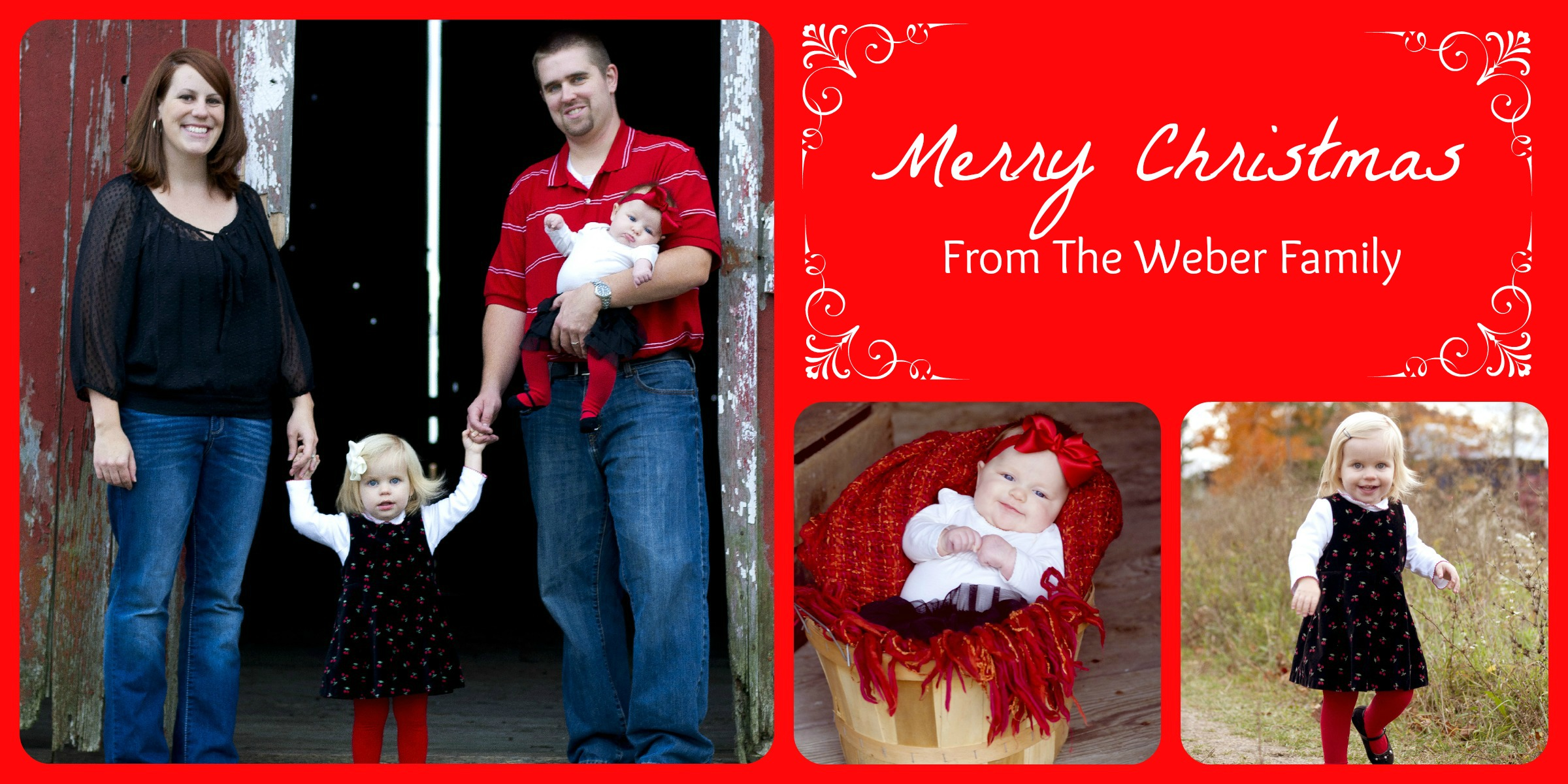 Weber Christmas Collage