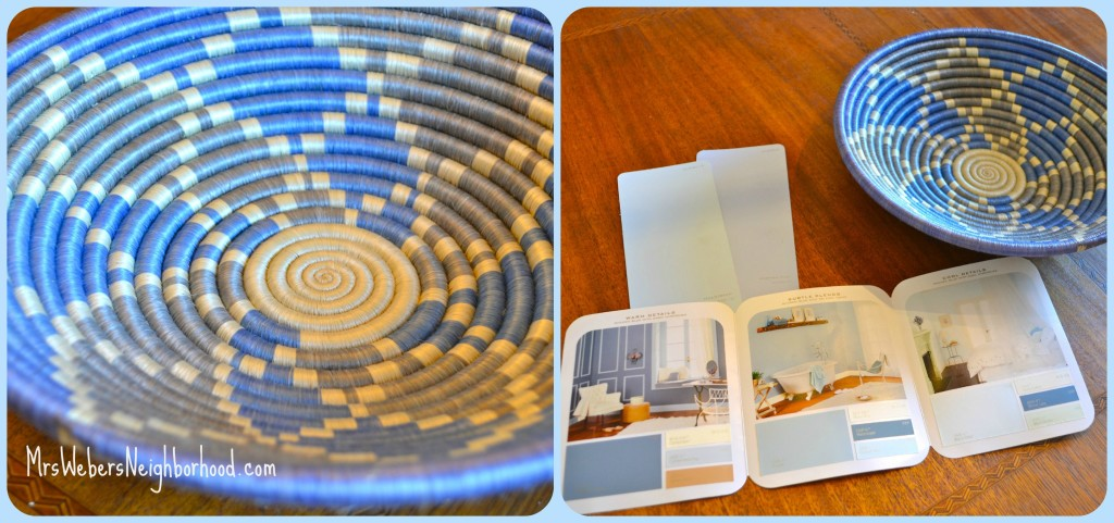 Bedroom Inspiration - Rwanda Basket from Macy's