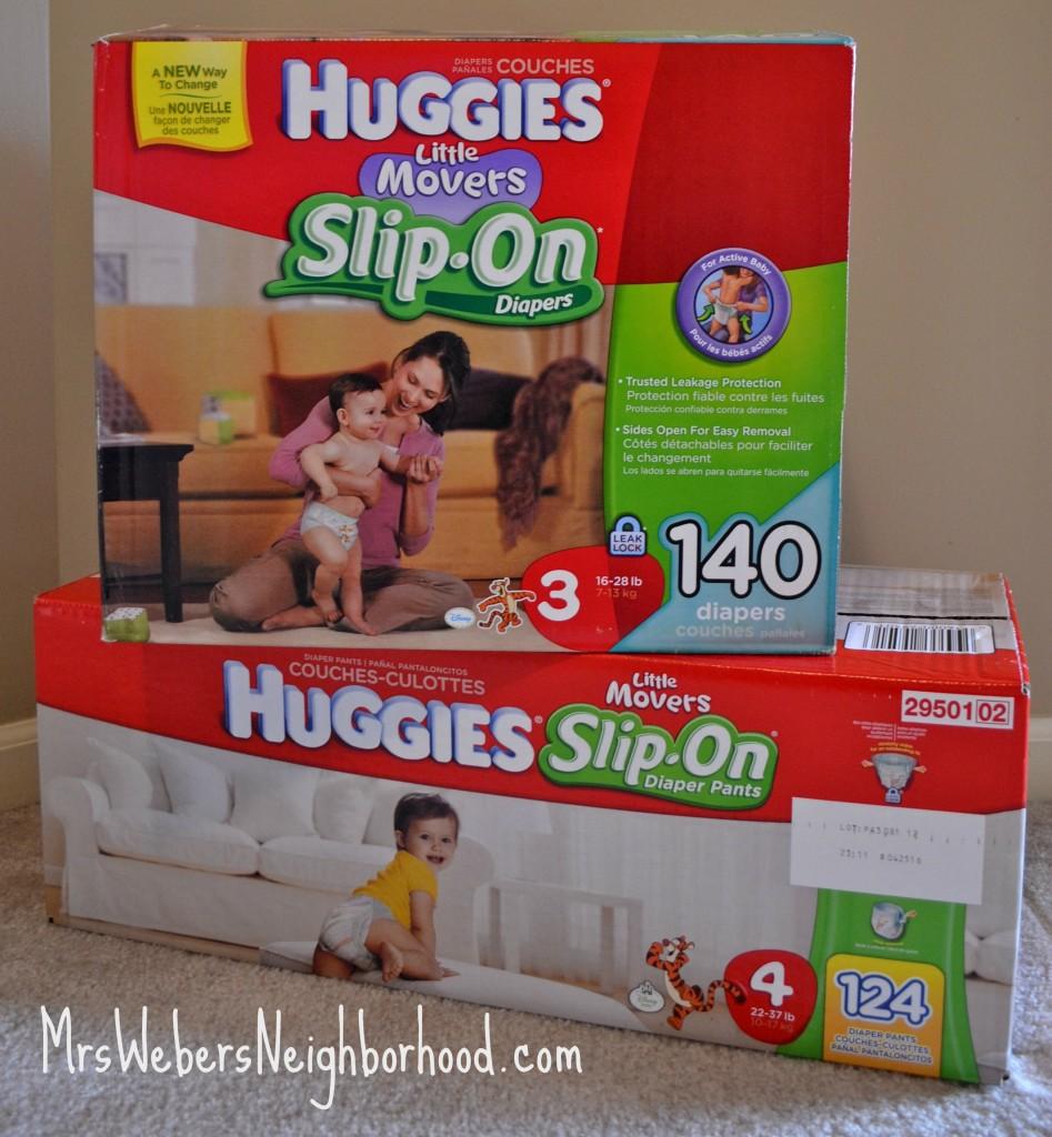 Huggies Slip-On Diapers