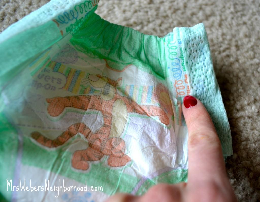 Huggies Slip-On Diapers Easy off tab