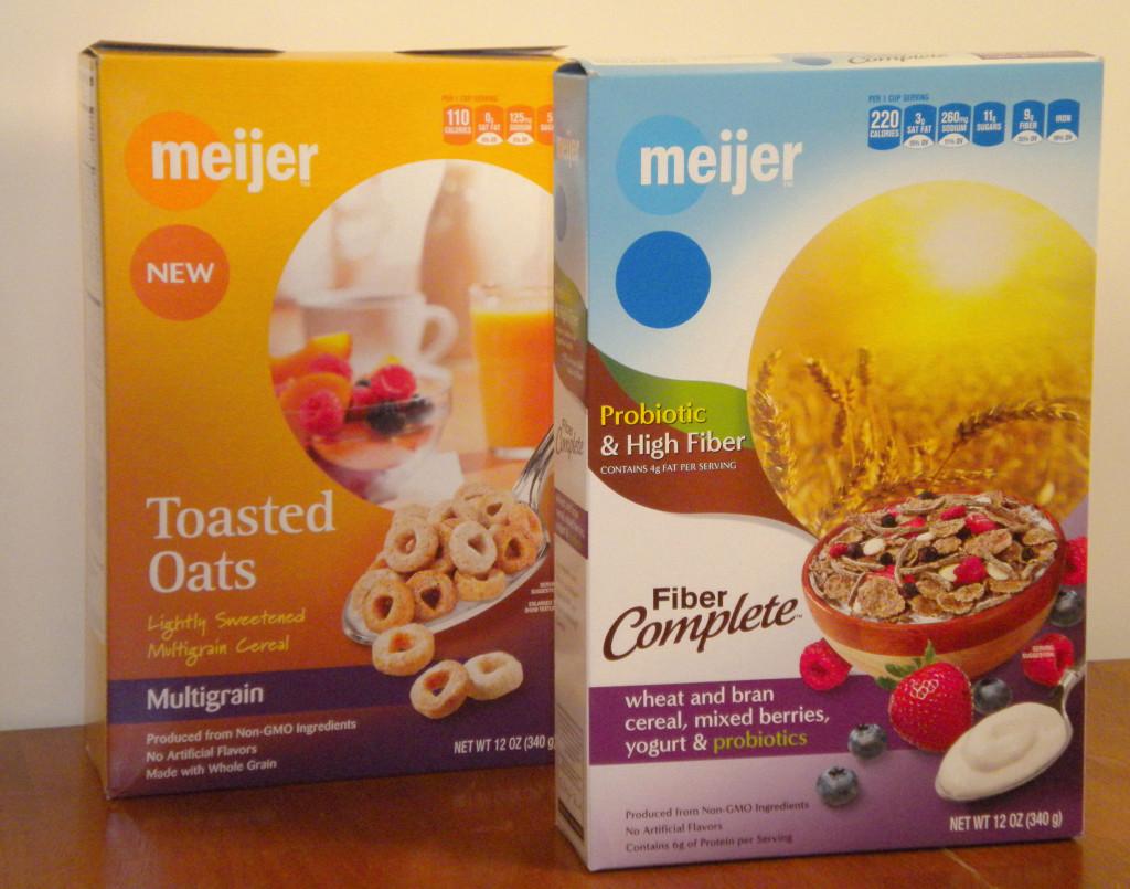 Meijer Cereal