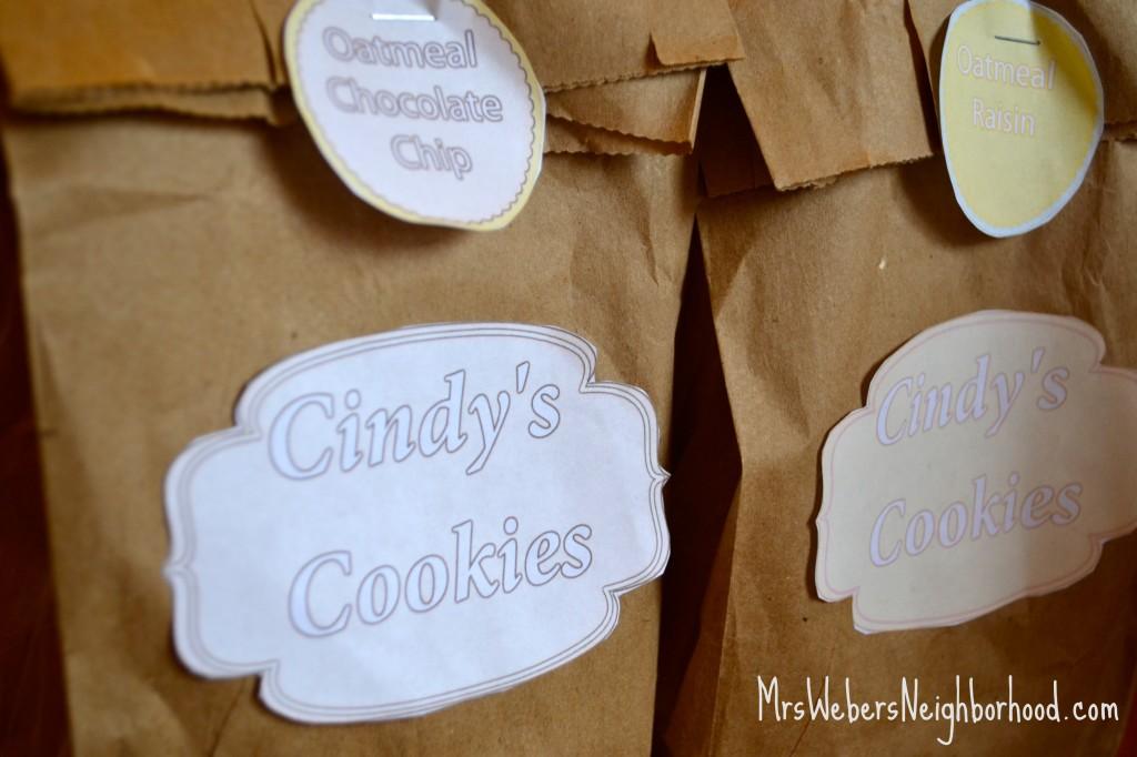 Cindy's Cookies 1