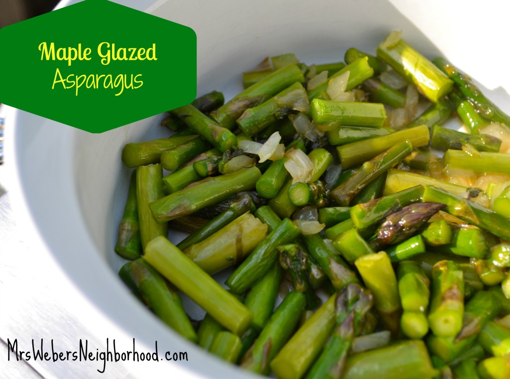 Maple Glazed Asparagus