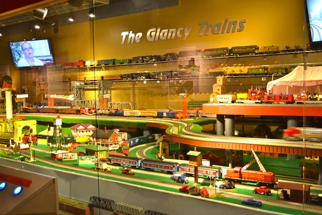 Glancy Trains at the Detroit Historical Museum