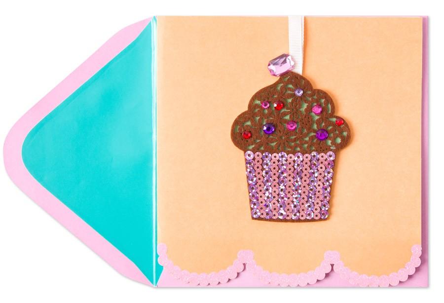 Cupcake card - Papyrus