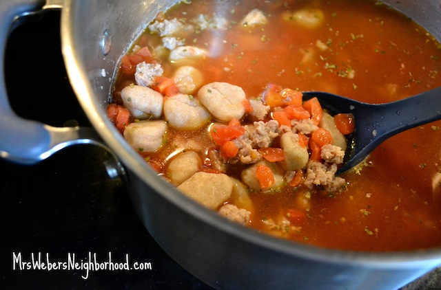Turkey Sausage Gnocchi Soup3