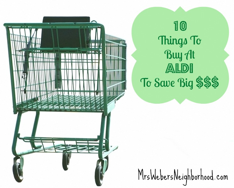 10 Things To Buy at Aldi