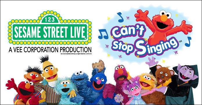 Sesame Street Live Can't Stop Singing in Detroit