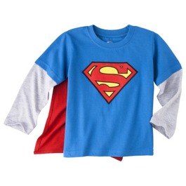 Superman Long Sleeve Tee