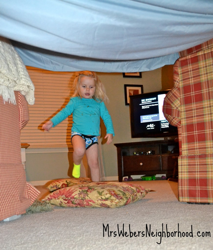 Ways To Use A Bed Sheet For Imaginative Play