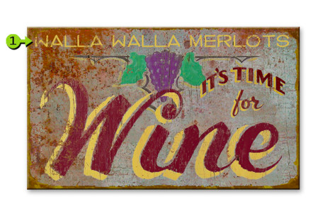 Wine Sign - GrandpaShorters.com