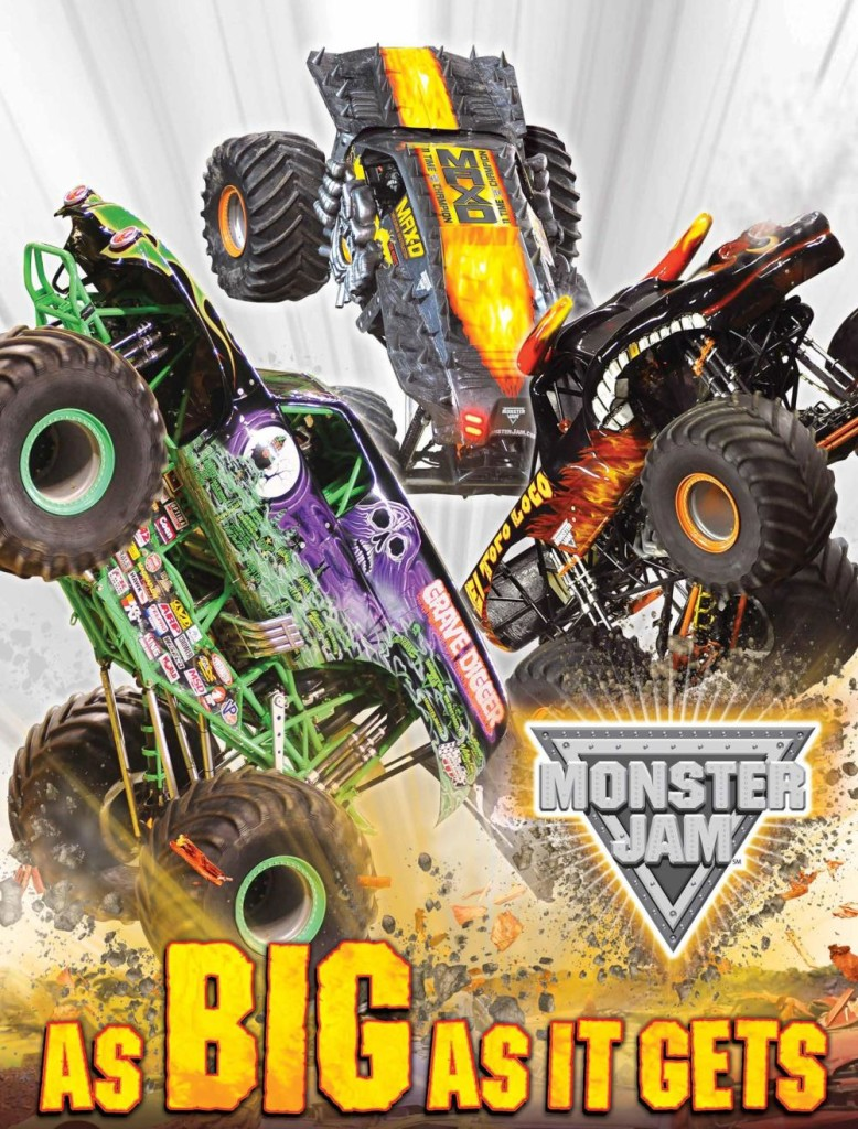 Monster Jam at Ford Field on March 1, 2014