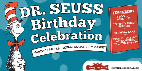 Dr. Seuss B-day at Lansing City Market