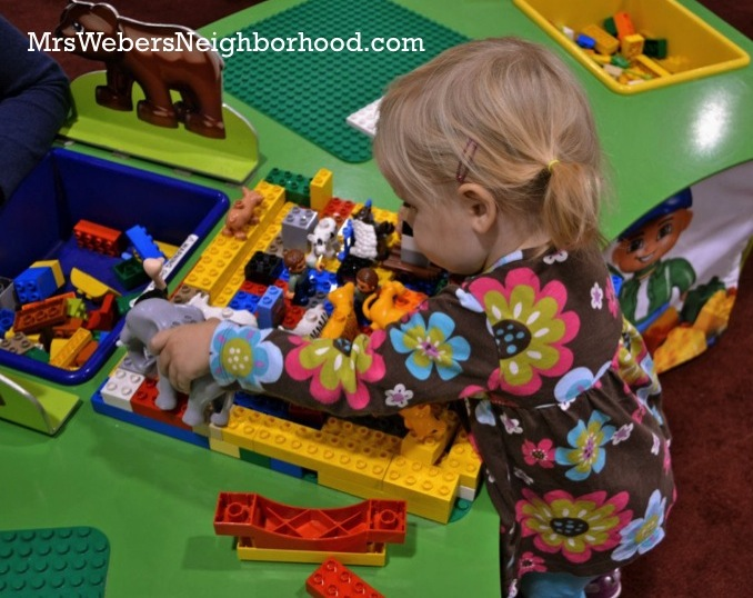 LEGO KidsFest Duplo Area