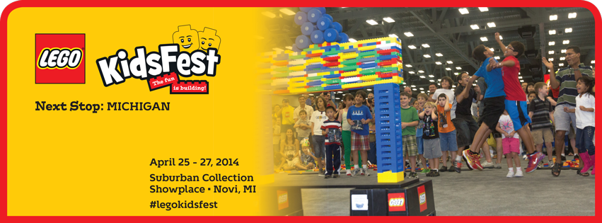 LEGO KidsFest in Michigan