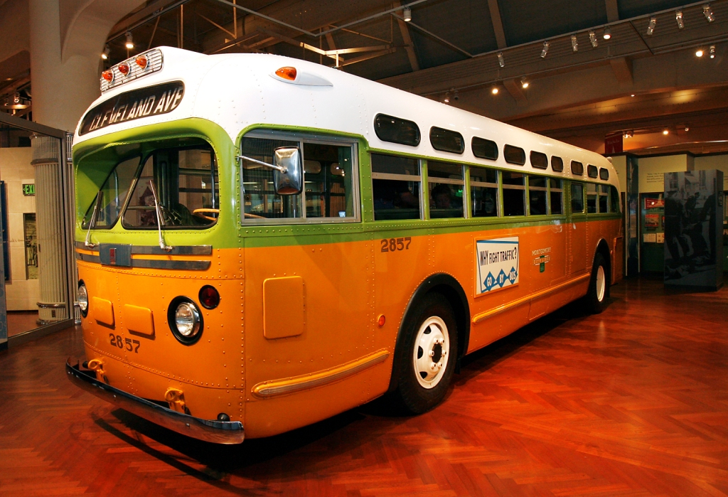 Rosa Parks bus- The Henry Ford
