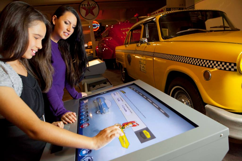 Henry Ford Museum - Touch Screen Interactive