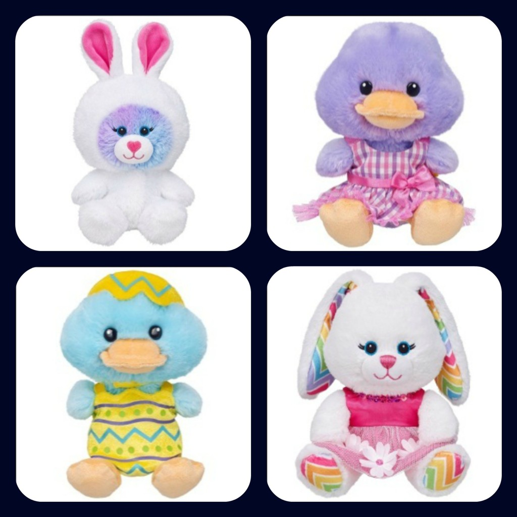 Build-A-Bear Buddies for Easter