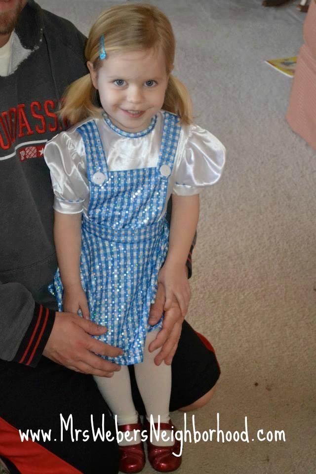 Kinley as Dorothy
