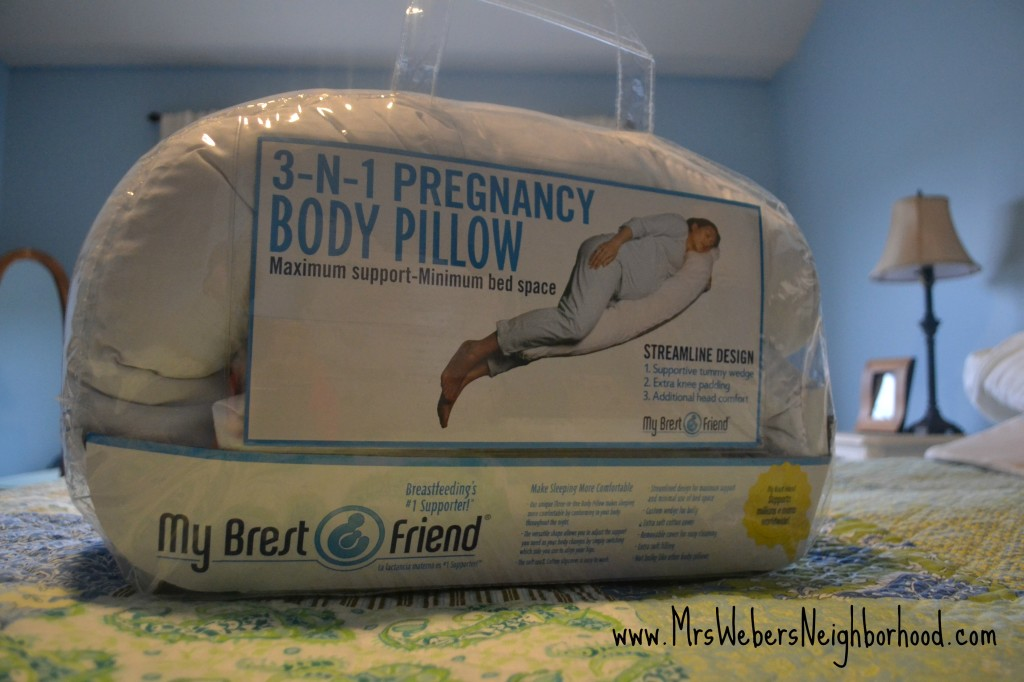 My Brest Friend 3-in-1 Body Pillow