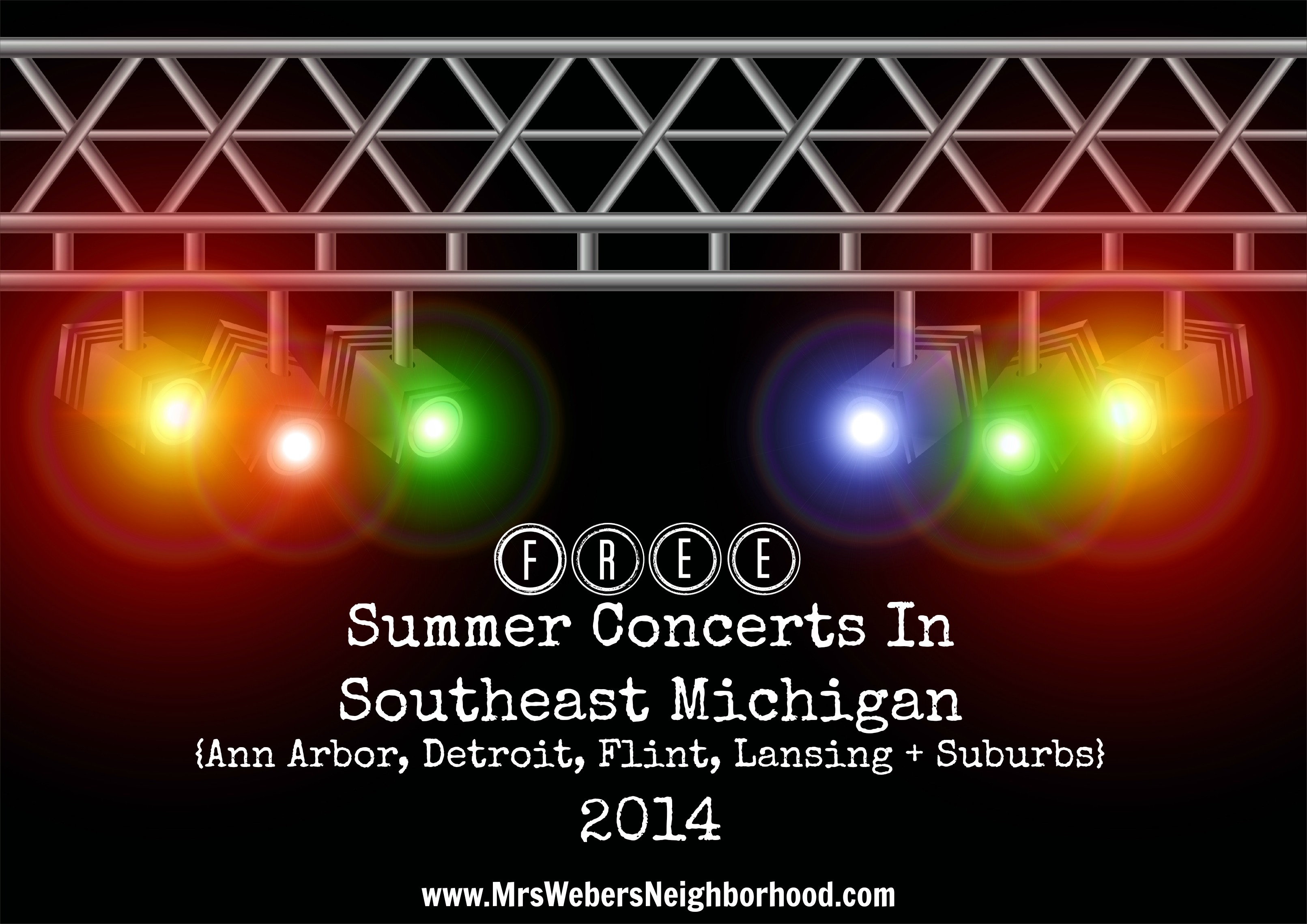 Free Summer Concerts in Southeast Michigan Summer 2014