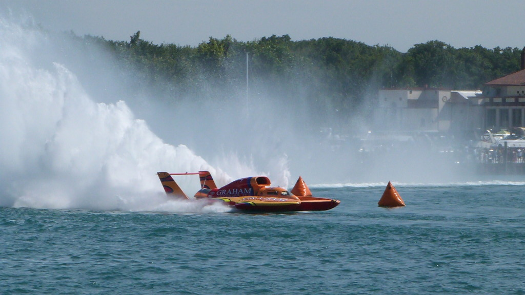 Detroit Gold Cup Hydroplane