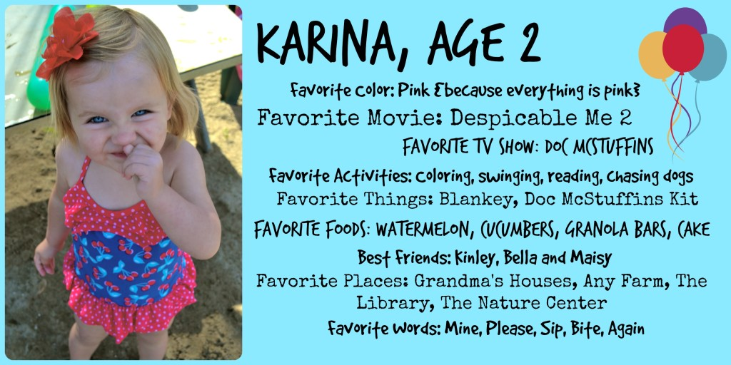 Karina, Age 2