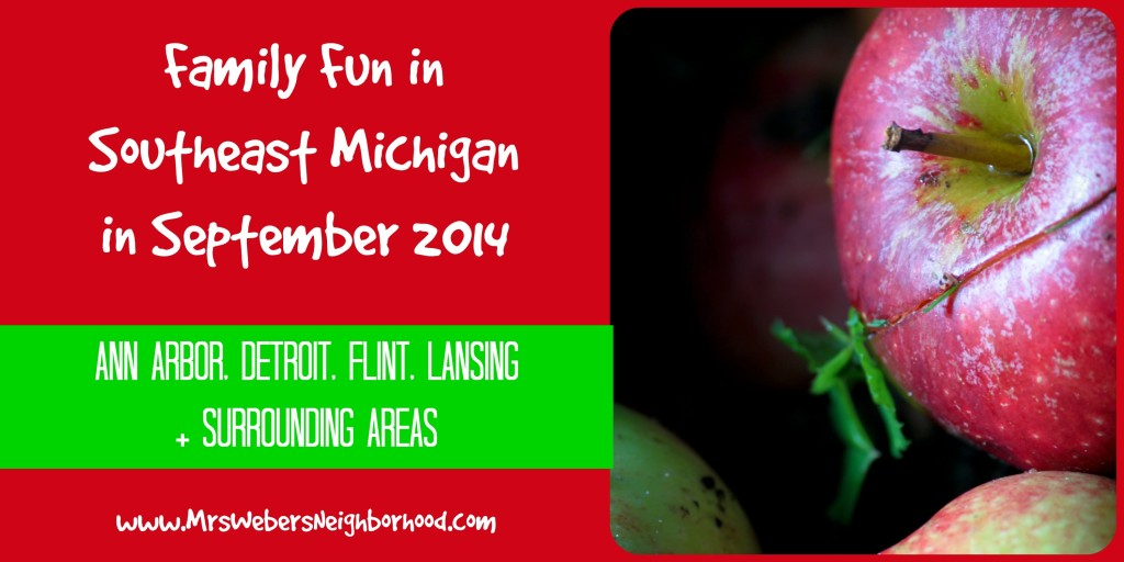 Family Fun in Southeast Michigan in September 2014