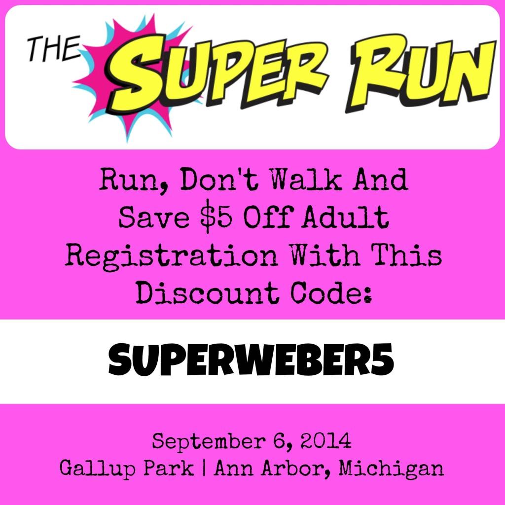 Super Run Ann Arbor Discount Code