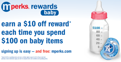 mPerks Baby Rewards