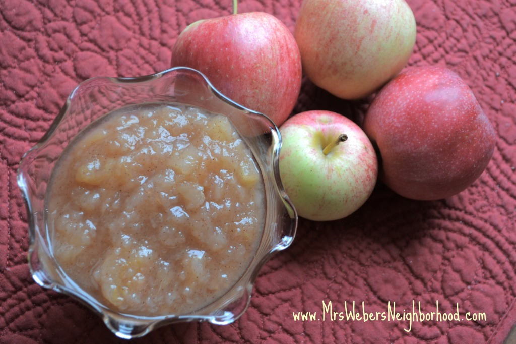 Crockpot Applesauce4