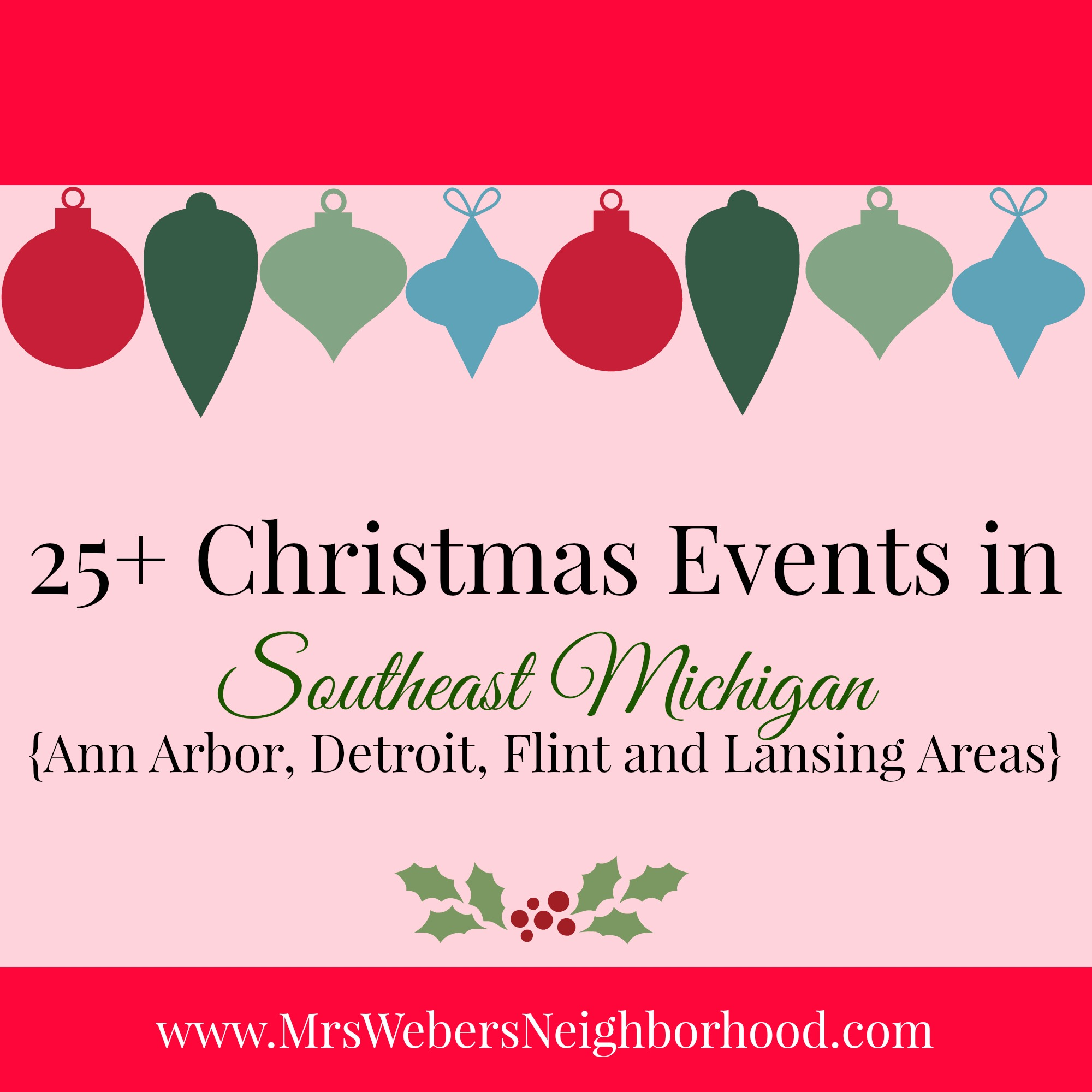 christmas events in southeast michigan - Christmas Light Show Michigan