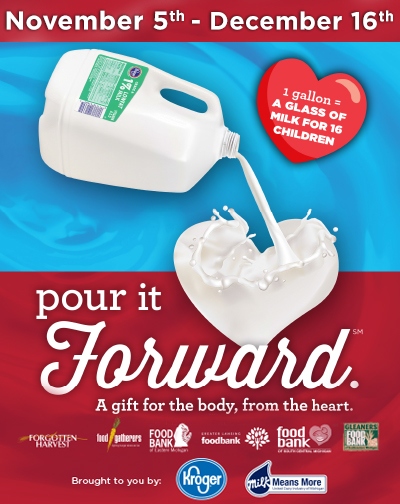 Pour It Forward - United Dairy Industry of Michigan