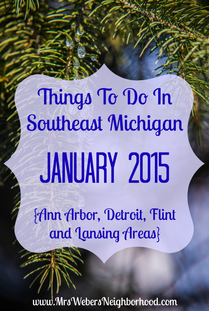Things To Do In Southeast Michigan In January 2015