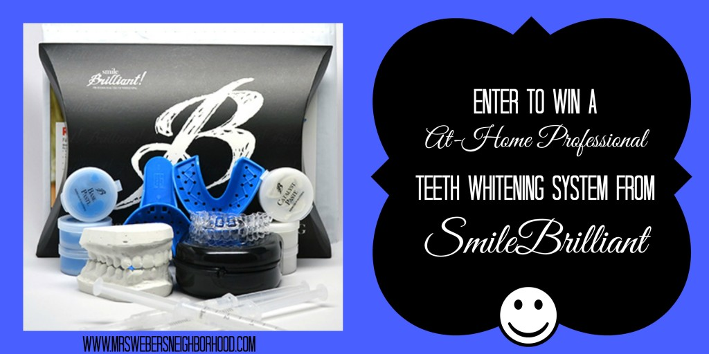 Win A SmileBrilliant Teeth Whitening System