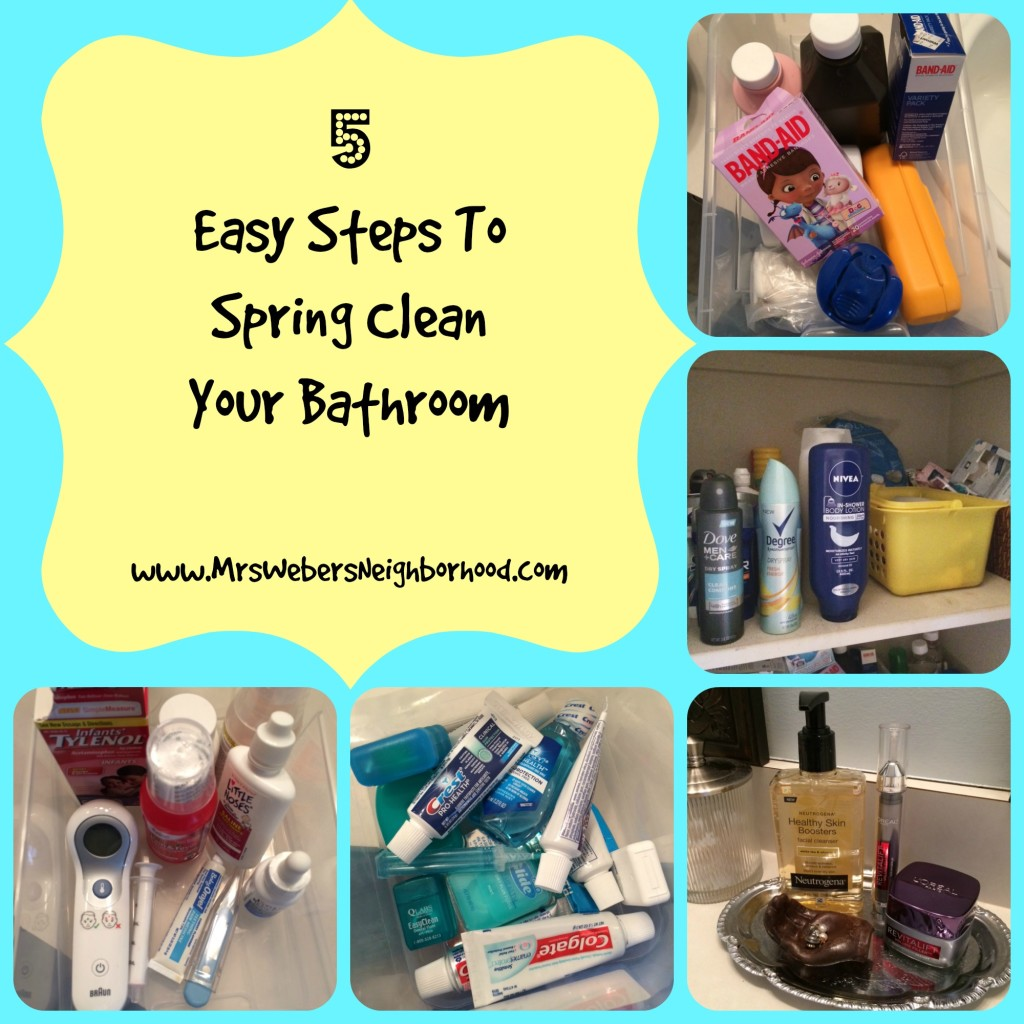 5 Easy Steps To Spring Clean Your Bathroom