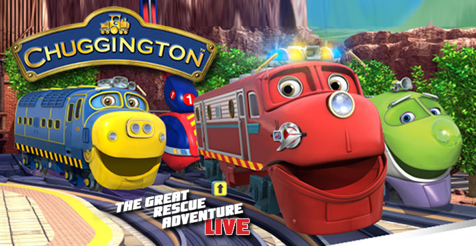 Chuggington Live in Detroit April 12, 2015