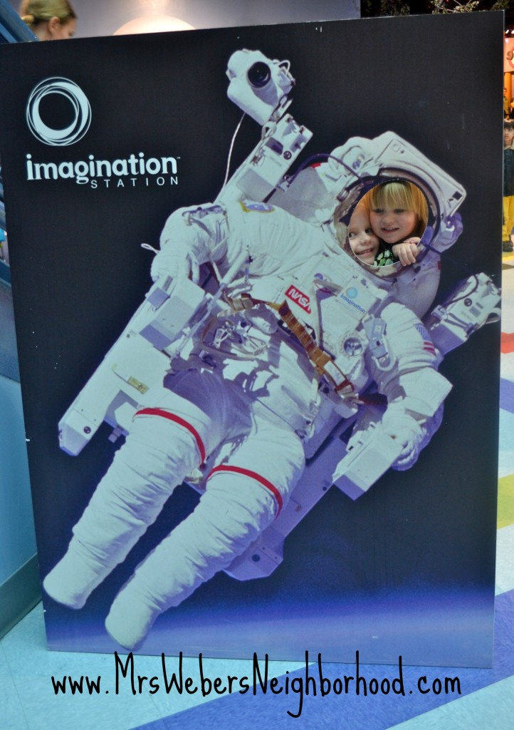 Astronaut at Imagination Station