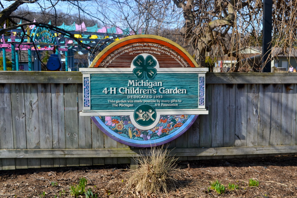 4-H Children's Gardens at MSU