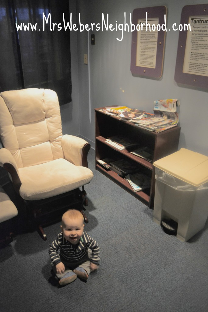Nursing Room at the Imagination Station