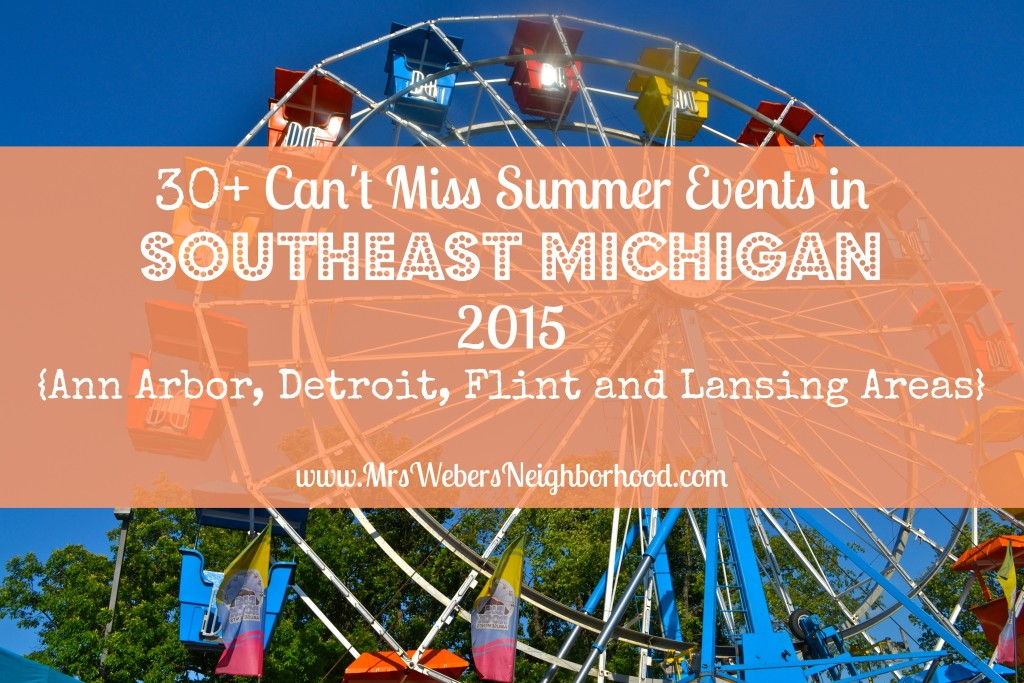 Summer Events in Southeast Michigan