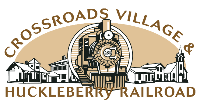 Crossroads Village and Huckleberry Railroad Logo