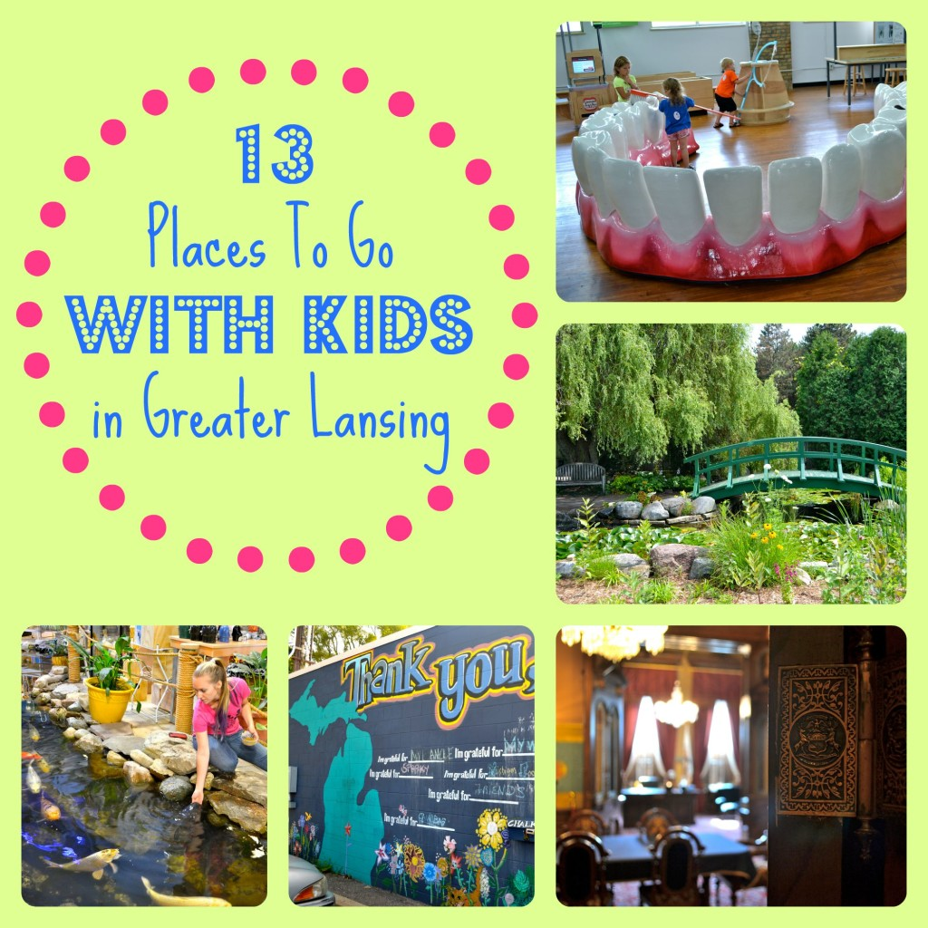 Places to Go With Kids in Greater Lansing