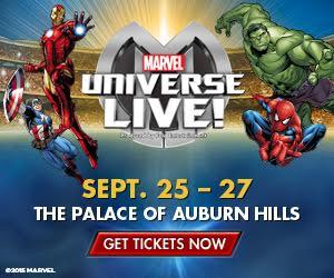 Marvel Universe Live - Palace of Auburn Hills