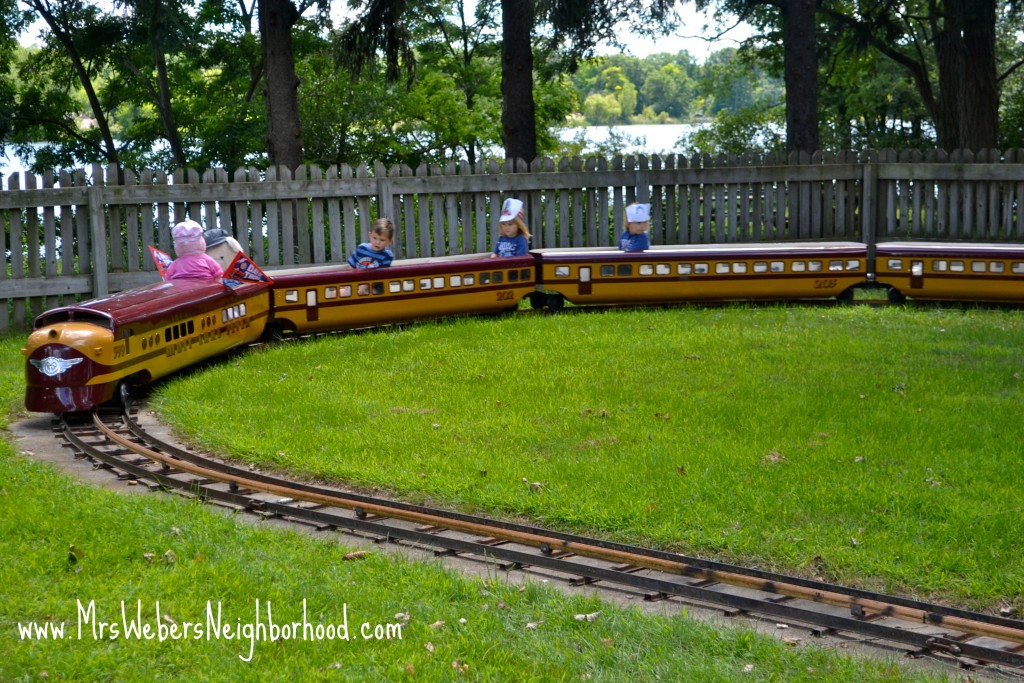 Mini Train Ride