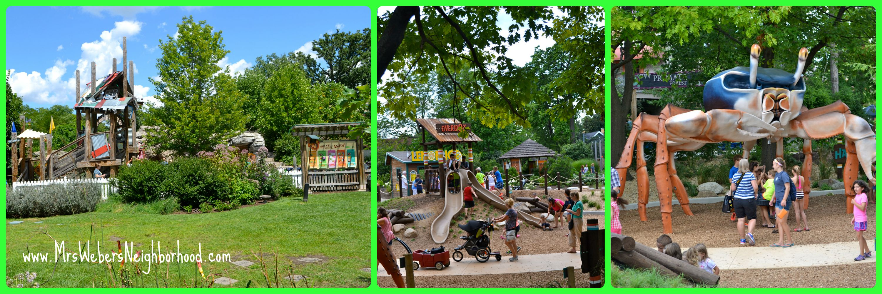 play areas at the toledo zoo