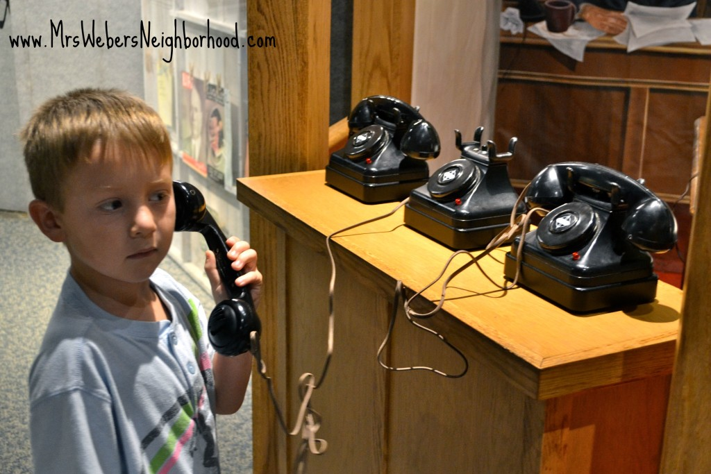 Rotary Phone at Sloan Museum