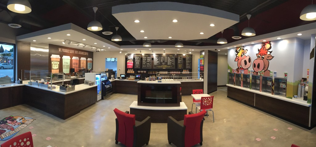 Yogurtopia Interior