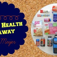 Back To Health Giveaway from Meijer